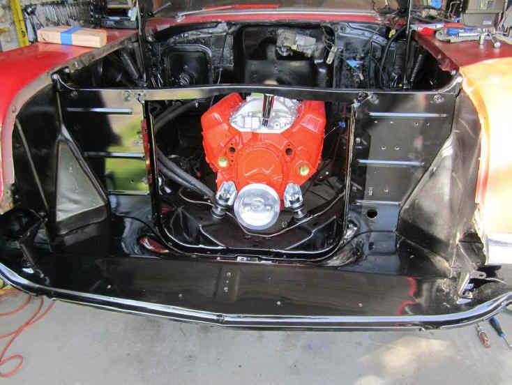 front motor mount bosses