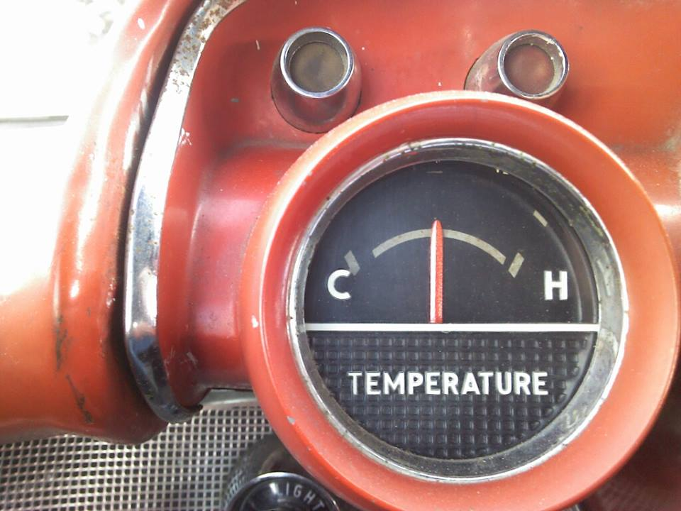 57 Chevy Temperature Gauge Wiring Complete Wiring Diagrams